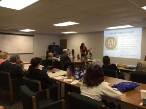 Peggy Burhen teaching program in Malibu